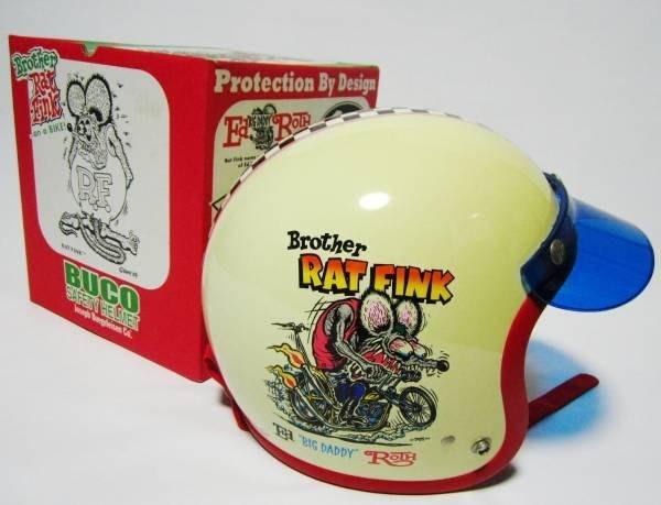 (I LOVE樂多)絕版品逸品BUCO x RAT FINK 聯名 老鼠芬克安全帽RF SG安全標準規範