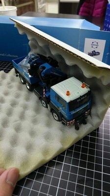 MAN TGS 4-Axle w/Palfinger PK100002 Felbermayr 特殊塗裝版本 拖車頭 +