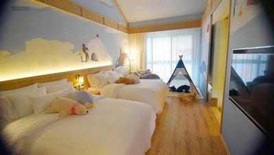 @瑞寶旅遊@宜蘭力麗威斯汀度假酒店【親子客房-有遊戲帳篷】『親子房一泊二食7850元』