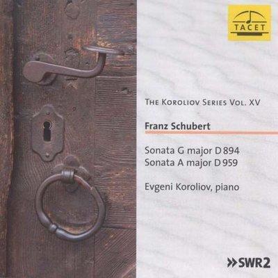 舒伯特:兩首鋼琴奏鳴曲The Koroliov Series Vol. XV---TACET979