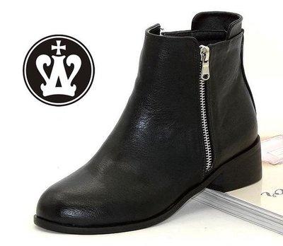 =WHITY=韓國GRAMMI品牌 韓國製   GR專櫃精品中跟鞋簡約時尚百搭高級軟皮S4HJ728