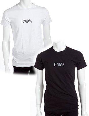 【Yisz World】Emporio Armani Crew T-Shirt 時尚短袖內衣_黑白兩色_XL到貨