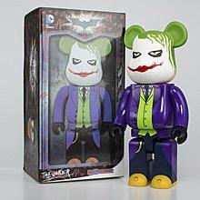 100% NEW Medicom Toy Bearbrick The Dark Knight Trilogy The Joker 400%