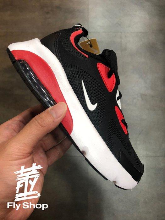 [飛董] Nike Air Max 200 PS 氣墊 休閒 慢跑鞋 運動鞋 中童鞋  AT5628 007 黑紅