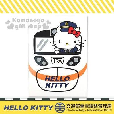 Hello Kitty台鐵 明信片 新太魯閣號 日本授權 小日尼三 日本帶回 有現貨 不必問 41+ gift41