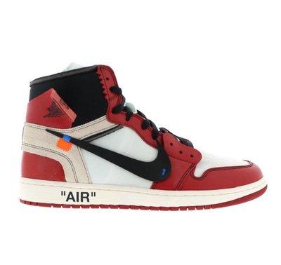 全新 Nike Air Jordan 1 X off White The Ten US12