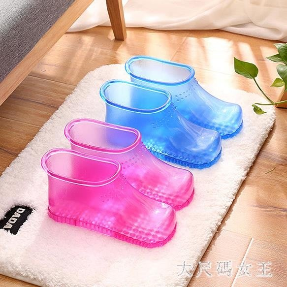 泡腳桶 足浴盆足浴桶洗腳家用塑料腳盆足浴鞋泡腳鞋泡腳神器 df5297