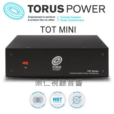 台中『崇仁音響發燒線材精品網』TORUS POWER TOT MINI 純淨電源處理器 │環型電源處理器