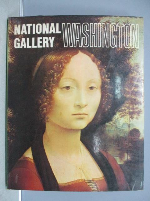 【書寶二手書T5/藝術_PGX】National Gallery Washington華盛頓國家畫廊