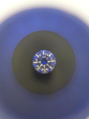 【益成當舖】流當品(已售出) 2.01克拉鑽石 八心八箭 淨度好 火光優 裸鑽 送六爪K金戒台