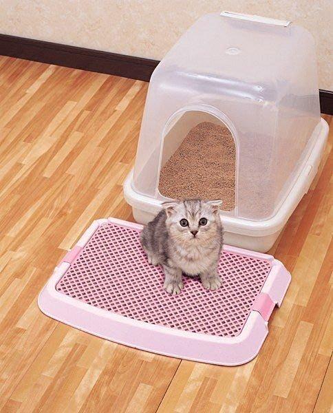*COCO*日本IRIS_NO-550(三色)貓用多功能落砂墊(砂踏墊)貓咪專用刮砂板.落砂盆~惱人貓砂不再是
