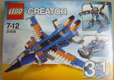 LEGO Creator 31008 Thunder Wings (全新 絕版 未開 MISB 與 31012 31090 31062 31086 共融)