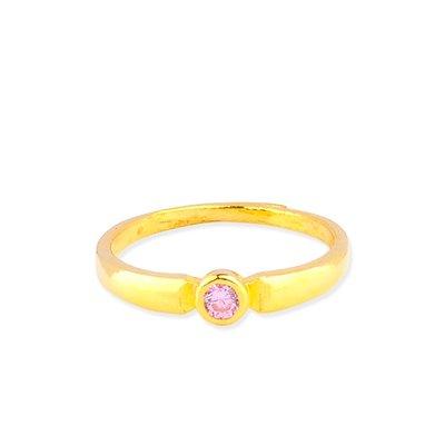 【JHT 金宏總珠寶/GIA鑽石】0.75錢 粉鑽黃金戒指 (請詳閱商品描述)
