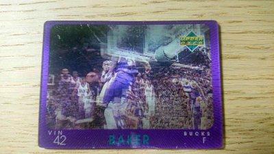 97-98 UD DIAMOND VISION #15 VIN BAKER