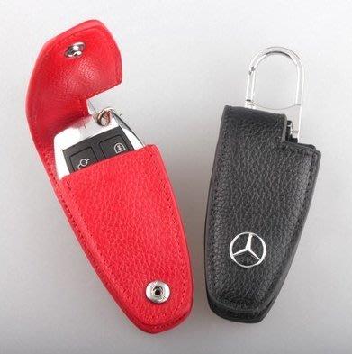 有車以後汽配~Benz賓士 C-Class E-Class W204 W212 W213 GLE GLA 真皮鑰匙包