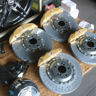 BMW F80 F82 F87 M3 M4 M2 M2 Performance brake, 陶瓷煞車, Brembo