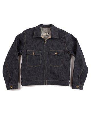 FBC TAILOR & SUPPLY DENIM ZIPPER JACKET Fat Boy Clothing 全新現貨 單寧直拉工作夾克
