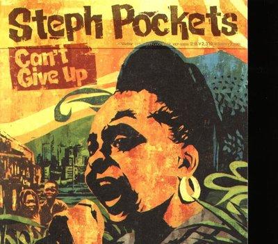 八八 - Steph Pockets - Can't Give Up - 日版 CD+OBI