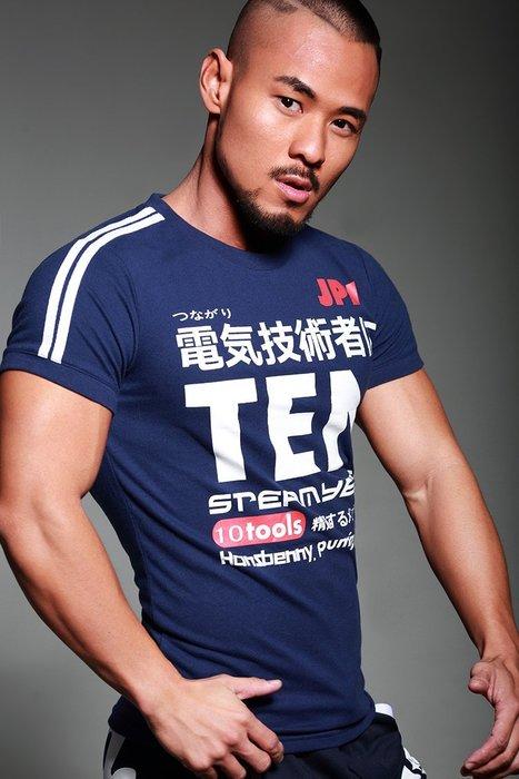 【OTOKO Men's Boutique】Hansbenny 電氣技術者/ T恤/藏青色/(正版)