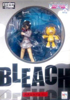 日本正版 megahouse Bleach 死神 朽木露琪亞 魂 模型 公仔 日本代購