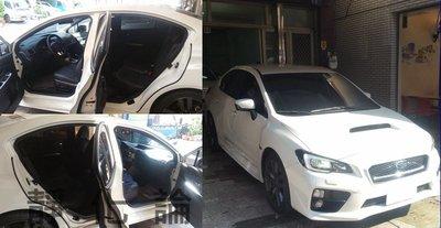 ☆久豆麻鉄☆ Subaru WRX 可用 (四門氣密) 全車隔音套組 汽車隔音條 靜化論 芮卡國際 公司貨