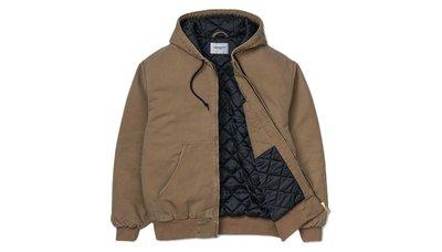 【美國鞋校】現貨 Carhartt Wip OG Active Jacket 重磅 帽TEE外套 卡其 I027360