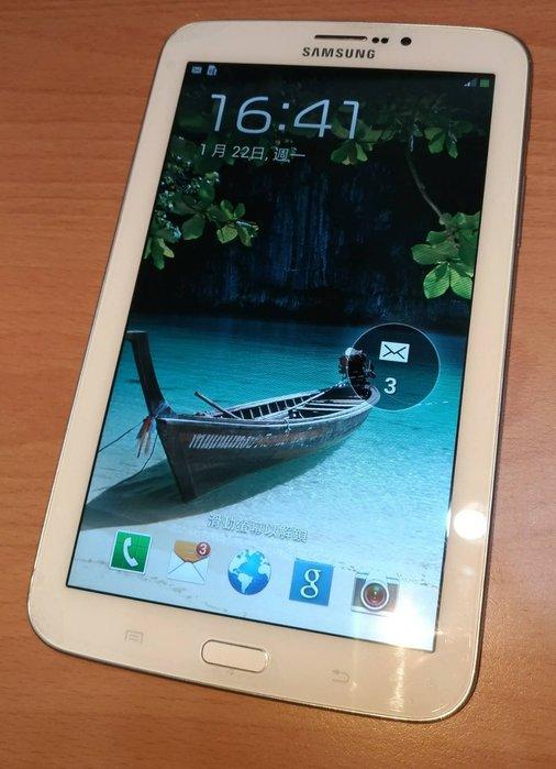 ☆手機寶藏點☆ Samsung GALAXY Tab 3 7吋 SM-T211 平板 3G 8GB 白色 平板 可通話