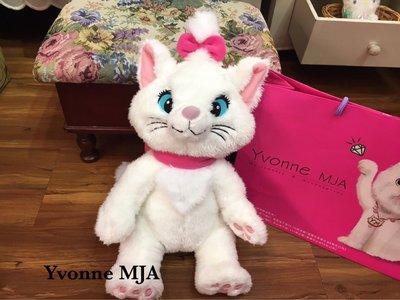 *Yvonne MJA日本代購*東京迪士尼樂園限定正品瑪麗貓大型娃娃 現貨實拍限量款