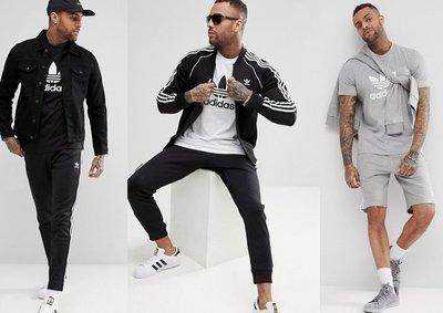 ◎美國代買◎ASOS代買adidas original 經典logo印花圓領短袖tee上衣~歐美時尚~大尺碼