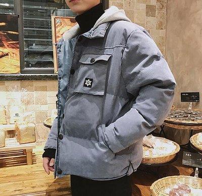 JREKA 新款冬季工裝外套男潮流韓版...