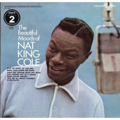美國二手黑膠Nat King Cole/Beautiful Moods  2LP