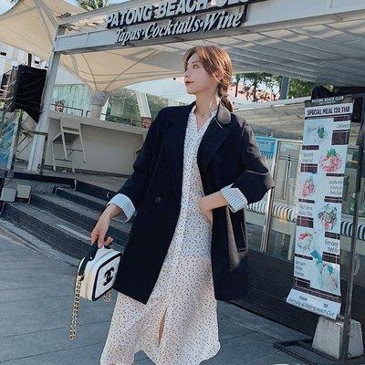 衣萊時尚黑色小西裝外套女 新款韓版學生...