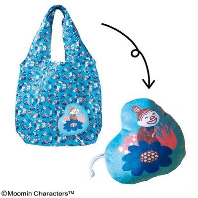 ☆Juicy☆日本雜誌附錄 MOOMIN 嚕嚕米 姆明 亞美 小不點 摺疊 托特包 單肩包 環保袋 購物袋 2281