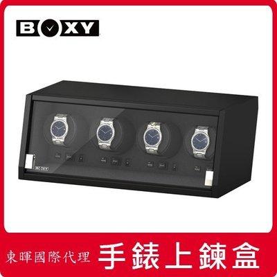 東暉代理 BOXY手錶自動上鍊盒收藏 CA04城堡系列 電子轉速設定 旋轉盒 搖錶器