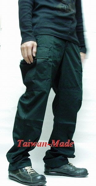 《甲補庫》___黑色特戰長褲(美規版)___多口袋垮褲、滑板褲、工作褲