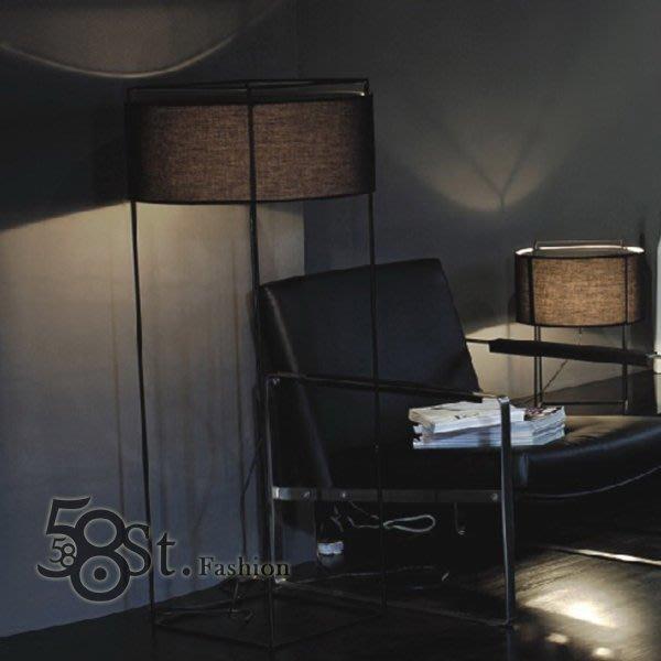 【58街】義大利設計師款式「Metalarte Lewit落地燈」。複刻版。GU-088