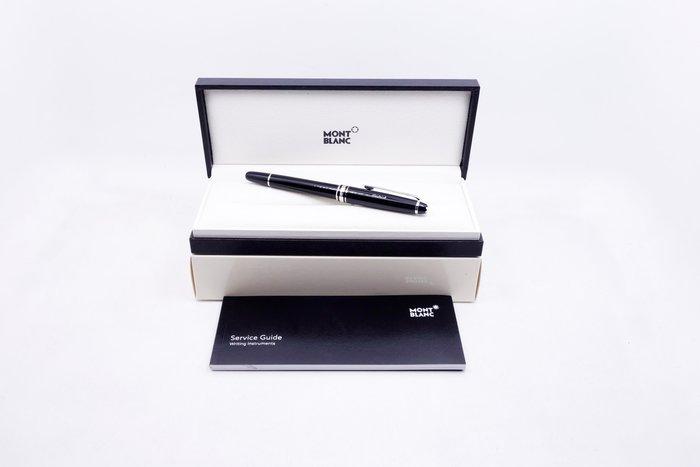 【台中青蘋果】萬寶龍 MONTBLANC 經典系列白夾鋼珠筆 2865 #17128