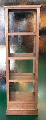 台中實木家具賣場 樂居原木傢俱生活館 HM567HE*一抽4層架*會議桌 洽談桌 戶外休閒桌 餐廳桌椅拍賣 咖啡桌 書