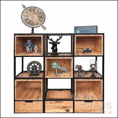 訂製品 12格收納架 格板置物架 展示架 CU022 *文昌家具*