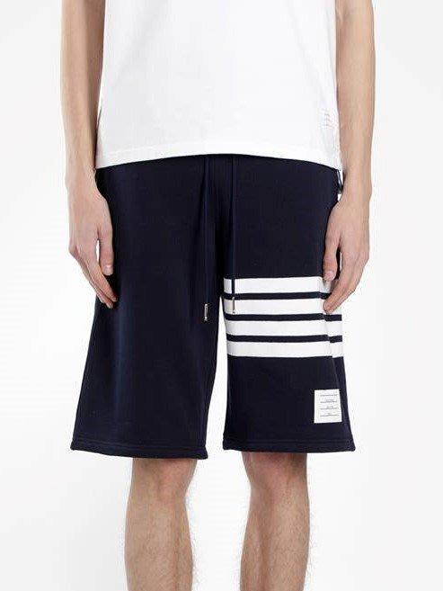 [ 羅崴森林 ] 現貨THOM BROWNE新品湯姆布朗海軍藍拉繩短褲