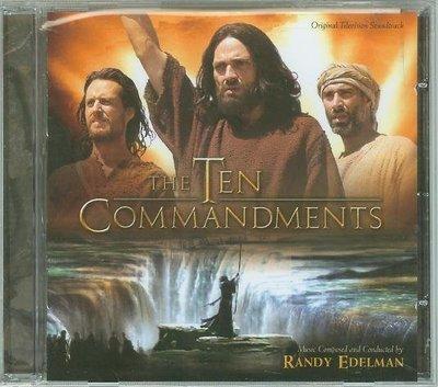 """""""十誡(Ten Commandments-TV Score)""""- Randy Edelman(16),全新美版"""