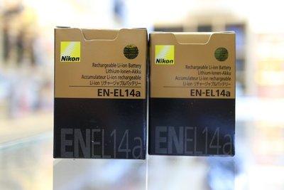 【日產旗艦】全新盒裝 Nikon ENEL14a 原廠電池 P7800 D5200 D5300 D5500 ENEL14
