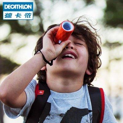 迪卡儂 兒童定焦光學多彩單筒望遠鏡 戶外徒步露營 小巧便攜 QUOP 『可開發票 小龍人』