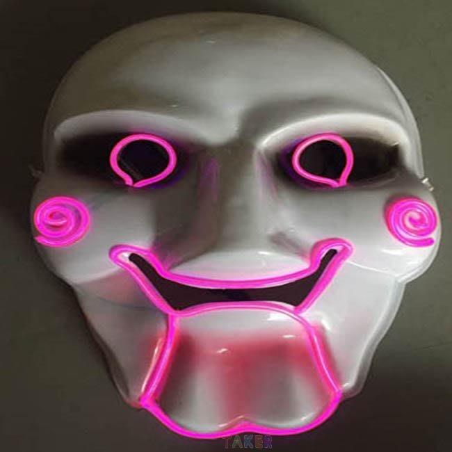 EL 冷光面具(奪魂鋸) V怪客 蝙蝠小丑 杰森殺手 死神/眼罩 黑崎一戶 cosplay【塔克玩具】