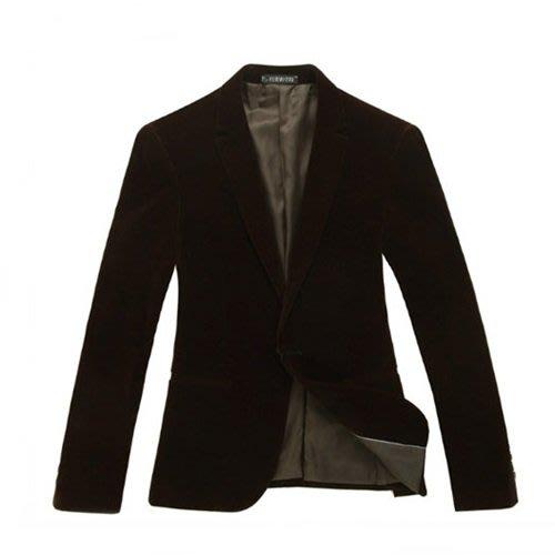 西裝外套-韓版修身休閒優質型男外套4色5x4[獨家進口][米蘭精品]
