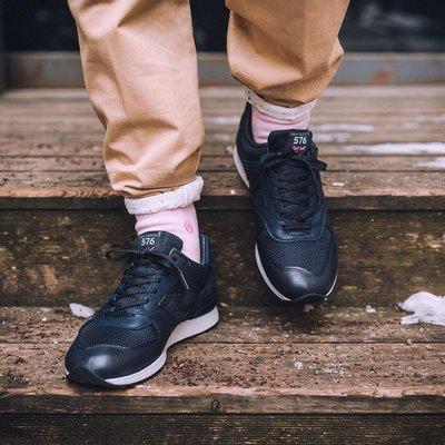 (預購商品) NEW BALANCE M576LKK M576LNN 黑色 藍色 皮革 英製 復古 運動鞋