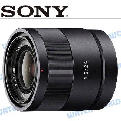 【中壢NOVA-水世界】SONY 24mm F1.8 ZA 大光圈 蔡司鏡頭 人像鏡【公司貨】SEL24F18Z