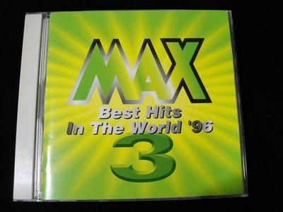 【198樂坊】MAX Best Hits In The World 96(I'll Do It ......日版)BZ