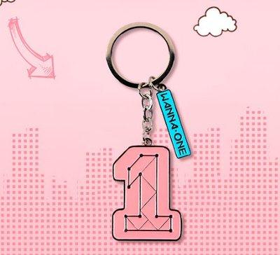 [東大][現貨]Q217   wanna one周邊金屬鑰匙扣 同款logo書包挂件可愛應援禮物