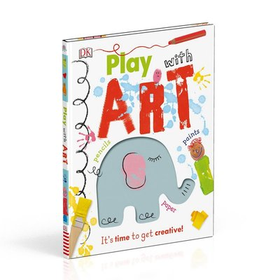 DK玩藝術 英文 Play With Art It's Time to Get Creative! 精裝 6-12歲 美